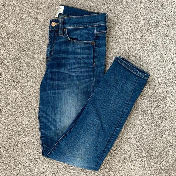 J. Crew Toothpick Jeans Size 27